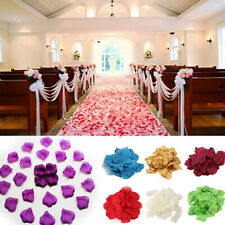 200 / 1000PCS Flowers Silk Rose Petals Wedding Party Table Confetti Decor hon