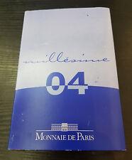 France Coffret Officiel BE Proof 8 Pièces + 5€ Argent  2004