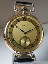 Cyma Antique 1910's Wristwatch Original Case, Original Dial