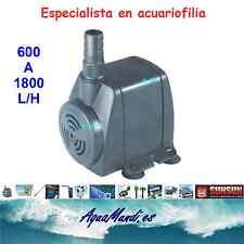 bomba circulacion presion SUNSUN  1000 L/H acuario pecera tortuguera estanque
