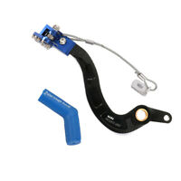 CNC Foot Brake Lever Pedal + Rubber Shifter for Yamaha YFZ250 2010-13 Motorcycle