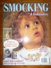 AUSTRALIAN SMOCKING & EMBROIDERY MAGAZINE ISSUE 27 SUMMER 1994