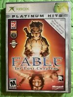 Fable The Lost Chapters Microsoft Xbox 2004 Fast Free Shipping Clean Disc