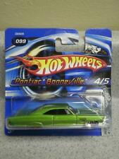 HOT WHEELS- PONTIAC BONNEVILLE- RED LINES- NEW ON CARD- L15