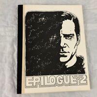 Star Trek TOS Epilogue 2 Fanzine Magazine Vtg Kirk