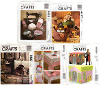 Choose: McCall's Crafts Patterns Home Decor; Sewing Accys; Child's Playhouse; +