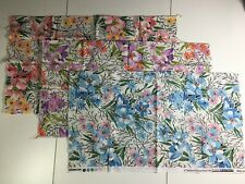 By R Kaufman Large Metallic Gold Ivory /& Charcoal Gray Flowers; Cotton Fabric