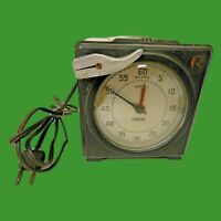 Standard Electric Time Co. Photographic / Dark room Vintage Precision Timer (1)