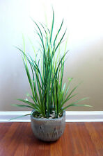2 Orchid Grass and 10 Long Grass Artificial Plastic Plants Flowers Landscep