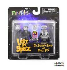 Lost in Space Minimates Dr. Zachary Smith & Robot B-9 B&W 2-Pack