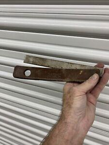"""Vintage 8"""" Gerber Steel Knife Sharpener Hone & Sheath 97223 USA"""