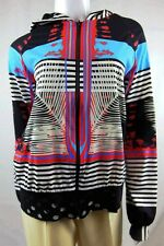 SAVE THE QUEEN Zipper Sports/Beach Hoody Top Sz L Made in ITALY