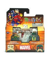 Marvel Minimates Baron Strucker & Hydra Elite Series 54 Captain America Figures