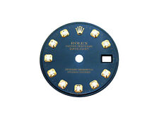 ROLEX BLUE DIAMOND DIAL FOR ROLEX DATEJUST TWO-TONE OR GOLD DATEJUST WATCH