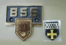 Beechcraft - Baron - B55 - Emblem P/N: 96-000128 and Crest P/N: 58-530227-3
