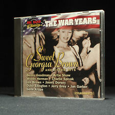 Sweet Georgia Brown - Big Band Classics - The War Years - music cd album