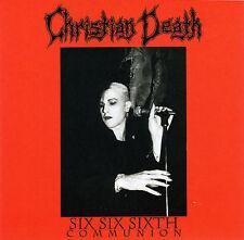 FREE US SHIP. on ANY 2 CDs! ~Used,VeryGood CD Christian Death: Six Six Sixth Com