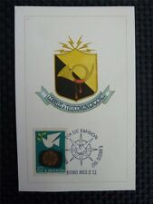 ARGENTINA MK 1967 TELECOMMUNICATION MAXIMUMKARTE CARTE MAXIMUM CARD MC CM c3260