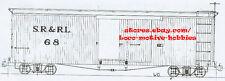 Funaro F&C 5041 HOn2-1/2  HOn30  SR&RL Sandy River Rangeley Lakes Boxcar  2-CARS