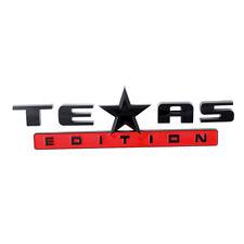 TEXAS EDITION ABS L/R Door Tailgate Emblem for Ram GMC Silverado Titan 150 B&R
