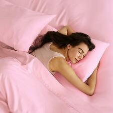 100% Cotton - (Attached Waterbed Sheet Set) 1000 TC All Size Pink  Solid