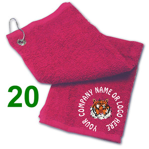 Best Impressions Personalised Terry Golf Towel Different Colours / Quantities