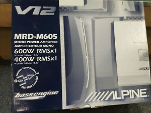 BRAND NEW IN THE BOX OLD SCHOOL ALPINE MRD-M605 MONOBLOCK.
