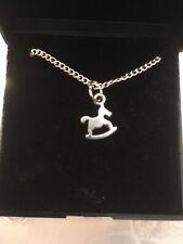 Rocking Horse Pendant Necklace
