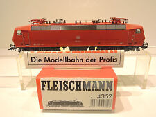 Fleischmann 4352 E-Lok BR 120 143-3 der DB, rot, sehr gut erhalten!Anleitung OVP
