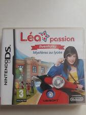 Jeux DS Lite Léa passion Mystères au lycée
