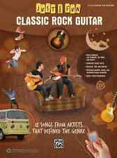 """JUST FOR FUN """"CLASSIC ROCK GUITAR""""-EASY GUITAR-TAB MUSIC BOOK BRAND NEW ON SALE!"""