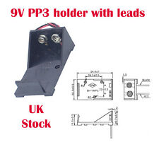 PP3 9V Battery Box / Holder with flying Leads