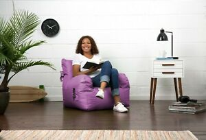 Big Joe Dorm Bean Bag Chair, Radiant Orchid Smartmax