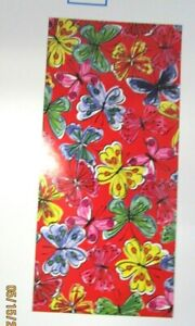 "BEACH TOWELS..BUTTERFLY .28"" X 60""...100% COTTON"