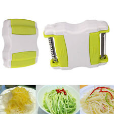 Kitchen Tool Vegetable Potato Carrot Cucumber Fruit Twister Cutter Slicer Peeler