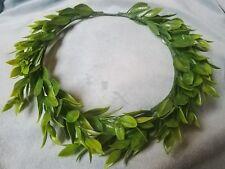 Green Leaf Crown Leaf Headband Costume Festival Headpiece Flower Crown