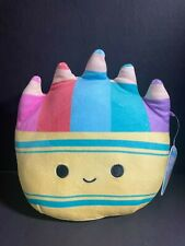 """Squishmallows CADE the Crayon Pack 8"""" Back to School NWT Kellytoy"""