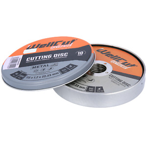 """10 x Metal Cutting Discs 115mm 4.5""""  1.2mm Ultra Thin for Angle Grinder"""