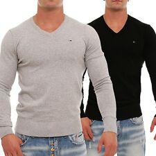 Tommy Hilfiger Denim Timber Strick Pullover Sweater V-Neck S M L XL XXL