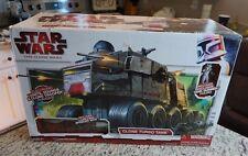 Clone Turbo Tank w Gunner Speeder STAR WARS 2009 Saga Clone Wars MISB