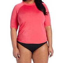 New Kanu Surf Women's Plus-size Breeze Rashguard, Size 1X