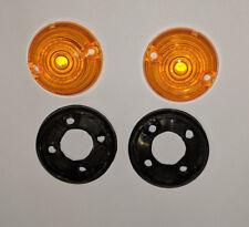 Subaru 360 sedan microcar side marker lens set - reproduction