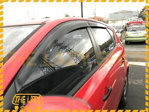 Weathershields, Weather Shields for Hyundai I30 Hatch 5dr 07-12 Window Visors
