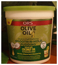 ORS Olive Oil Curl Defining Smooth-N-Hold Pudding 13oz - Australia Stock