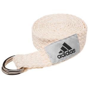 Adidas Yoga Strap Yoga Mats Carrying Straps Belt BH0325 White New