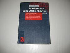 Mathematik zum Studienbeginn von Arnfried Kemnitz , 6. Aufl. (2004)