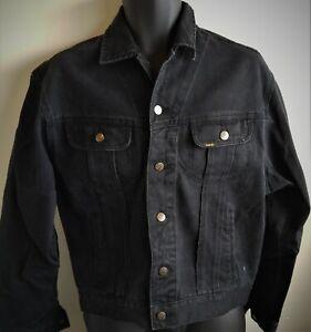 Vintage Lee Riders 101 J type denim jacket Black