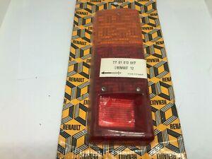 RENAULT 12 SALOON REAR LEFT INDICATOR BLINKER  BRAKE LIGHT LENSE  7701013047