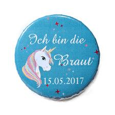 B153 Kleidung & Accessoires Hochzeit & Besondere Anlässe Einhorn Unicorn Buttons Jga Braut Junggesellinnenabschied Button