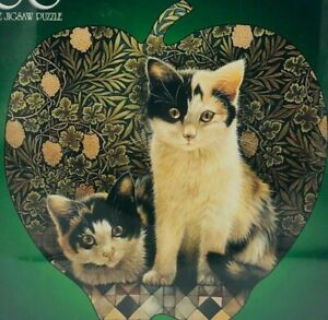 Cat Kittens A Perfect Pair  600 Piece Bits & Pieces  Jigsaw Puzzle Black/White